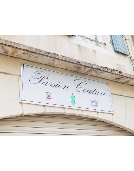 Enseigne atelier de couture