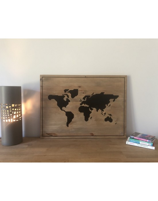 Tableau Map Monde