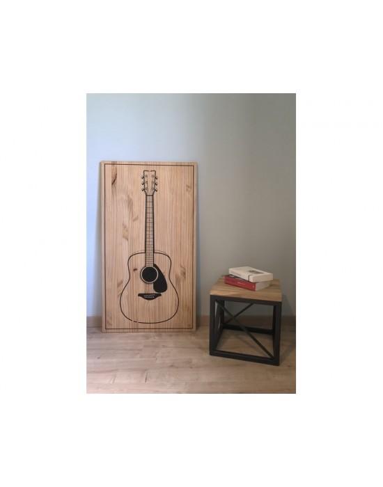 Tableau Guitare Folk